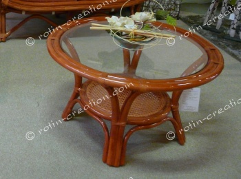 Table FLOWER rouge chine